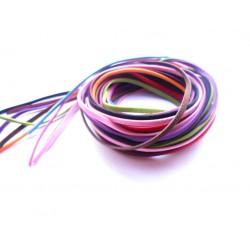 10 mètres de cordon imitation daim