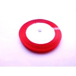 20 mètres de ruban satin 6mm rouge