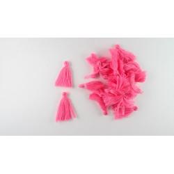 Lot de 20 pompons roe fushia 3cm