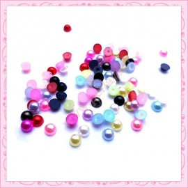 1 sachet mix de strass en acrylique 4mm