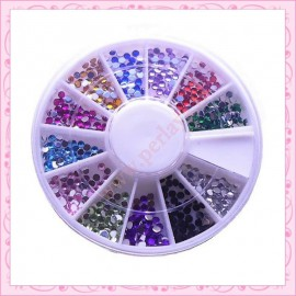 1 carrousel mix + 300 strass 2mm