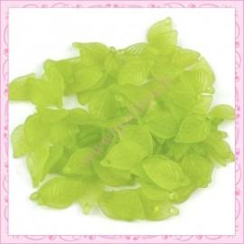 lot de 50 feuilles lucite verte 18mm