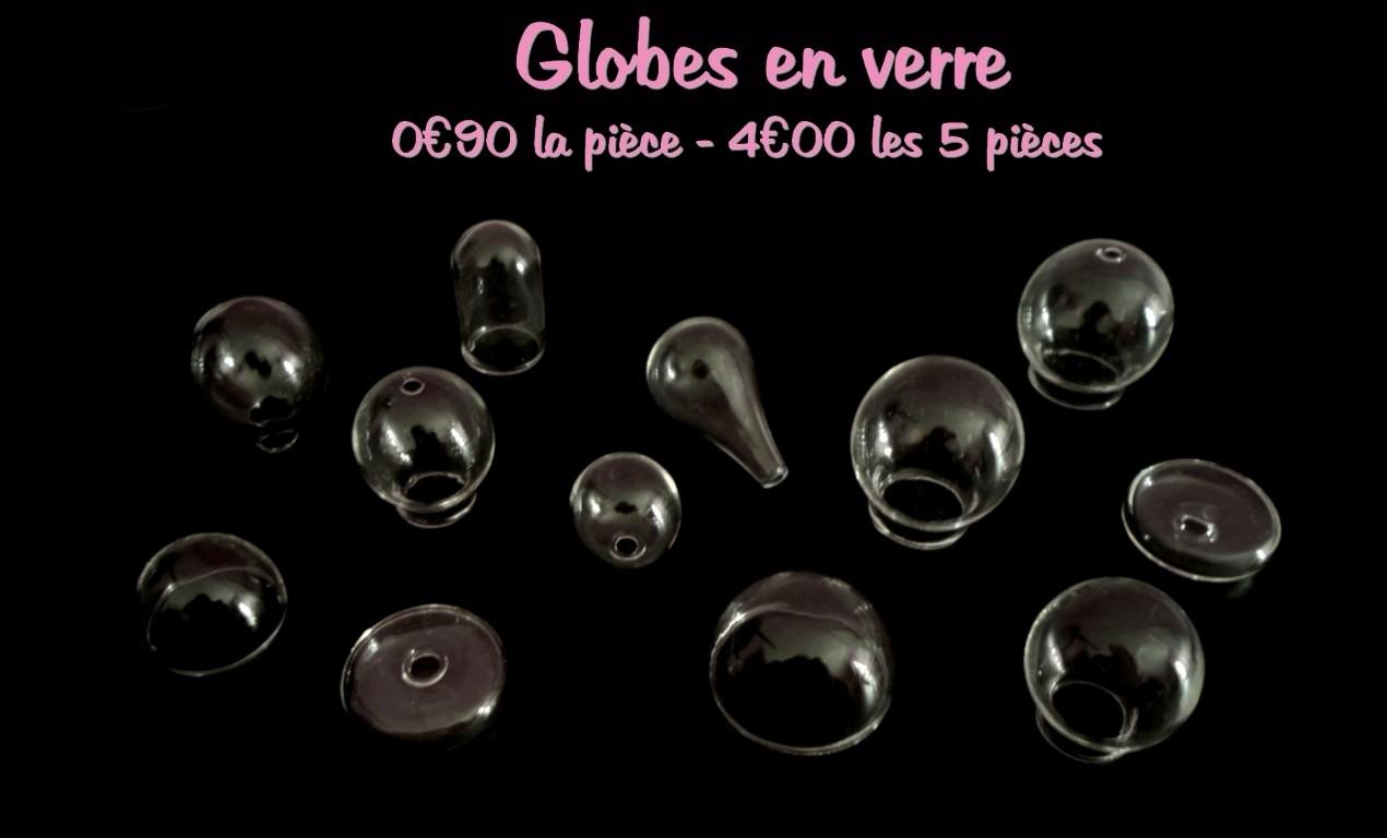 nouveaux globes en verre