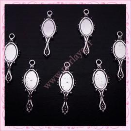 5 breloques miroirs