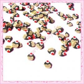 500 tranches fimo cupcake