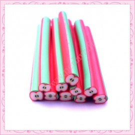 10 canes fimo pomme