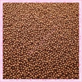 10 grs de micro-billes marron