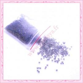 20g de micro-billes transparente noire/gris 1.5mm