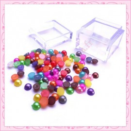 2 boites de mix cabochons 4mm