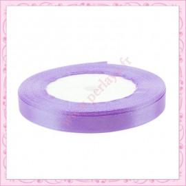 20 mètres de ruban satin 10mm violet