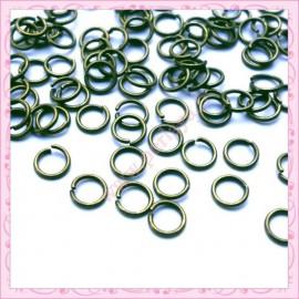 Lot de 500 anneaux bronze 5mm en métal
