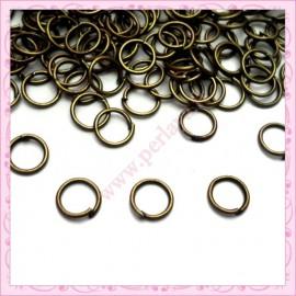 Lot de 1000 anneaux bronze 5mm