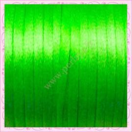 10 mètres de fil satiné queue de rat vert