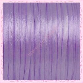 10 mètres de fil satiné queue de rat violet