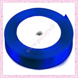 23 mètres de ruban satin 12mm bleu marine
