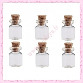 Lot de 10 fioles en verre 0.5ml
