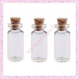 Lot de 4 fioles 1ml en verre