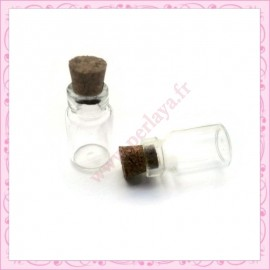 Lot de 10 fioles en verre 1ml