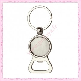 20 anneaux porte clef 6cm avec pitons argentés foncés