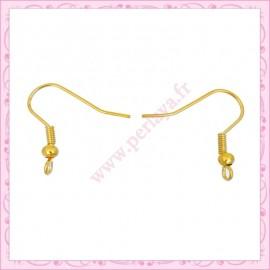 Lot de 400 crochets dorés pour boucle d'oreille