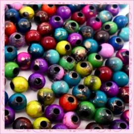 300 perles 8mm filament en acrylique