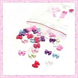 200 minis cabochons noeuds 5mm