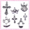 Thème croix et anges