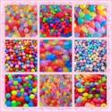 Perle en résine - acrylique