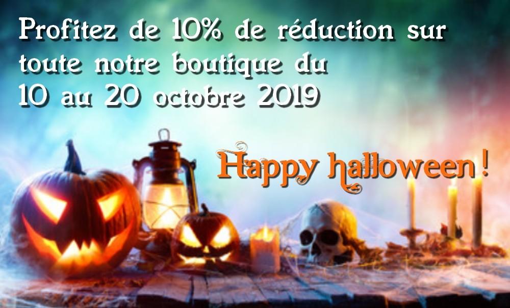 réduction halloween
